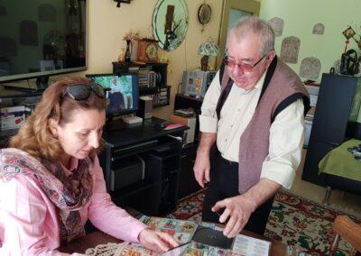 В дома на проф. д-р Пламен Арабов